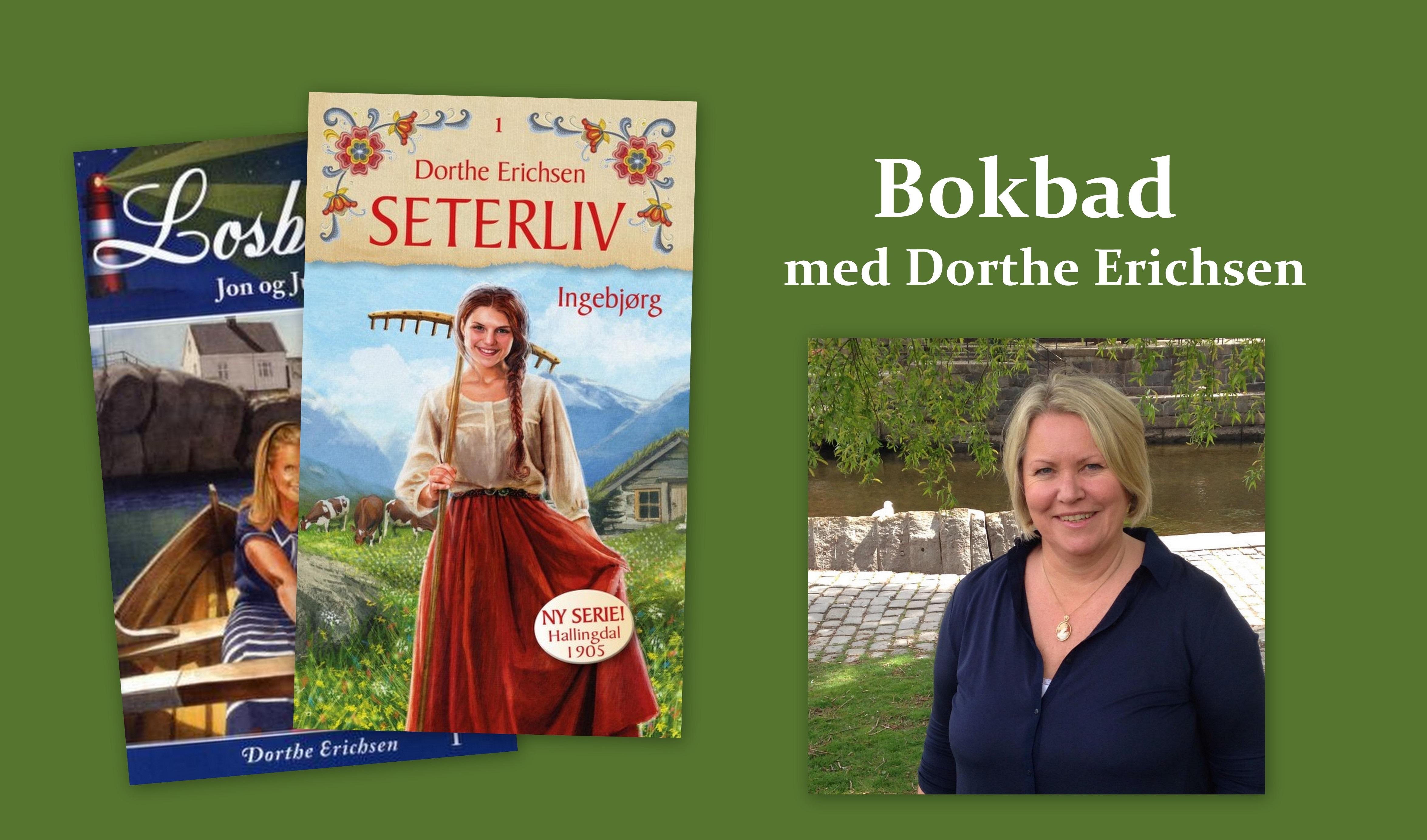 Bokbad med Dorthe Erichsen